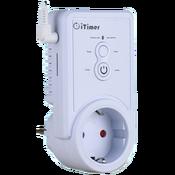 Умная GSM розетка с датчиком температуры iTimer II, PRO 16, 16A/220V
